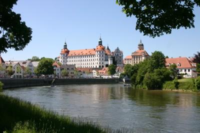 Das Schloss in Neuburg an der Donau. © Stadt Neuburg/Donau, Bernhard Mahler