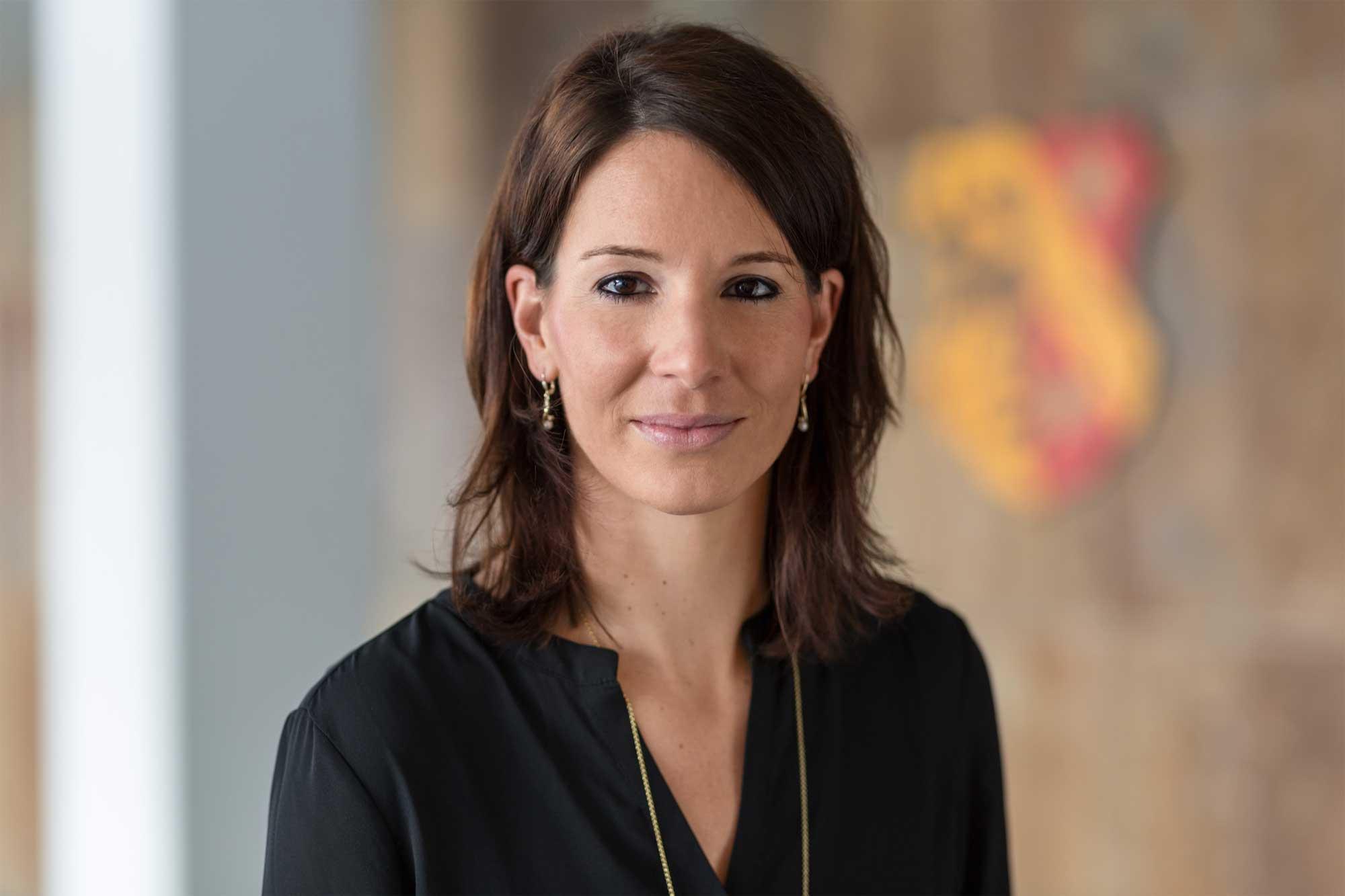 Caroline Moser, Leiterin des Referats für Wirtschaft und Kultur und Werkleiterin des Eigenbetriebs Städtisches Wasserwerk Kaufbeuren