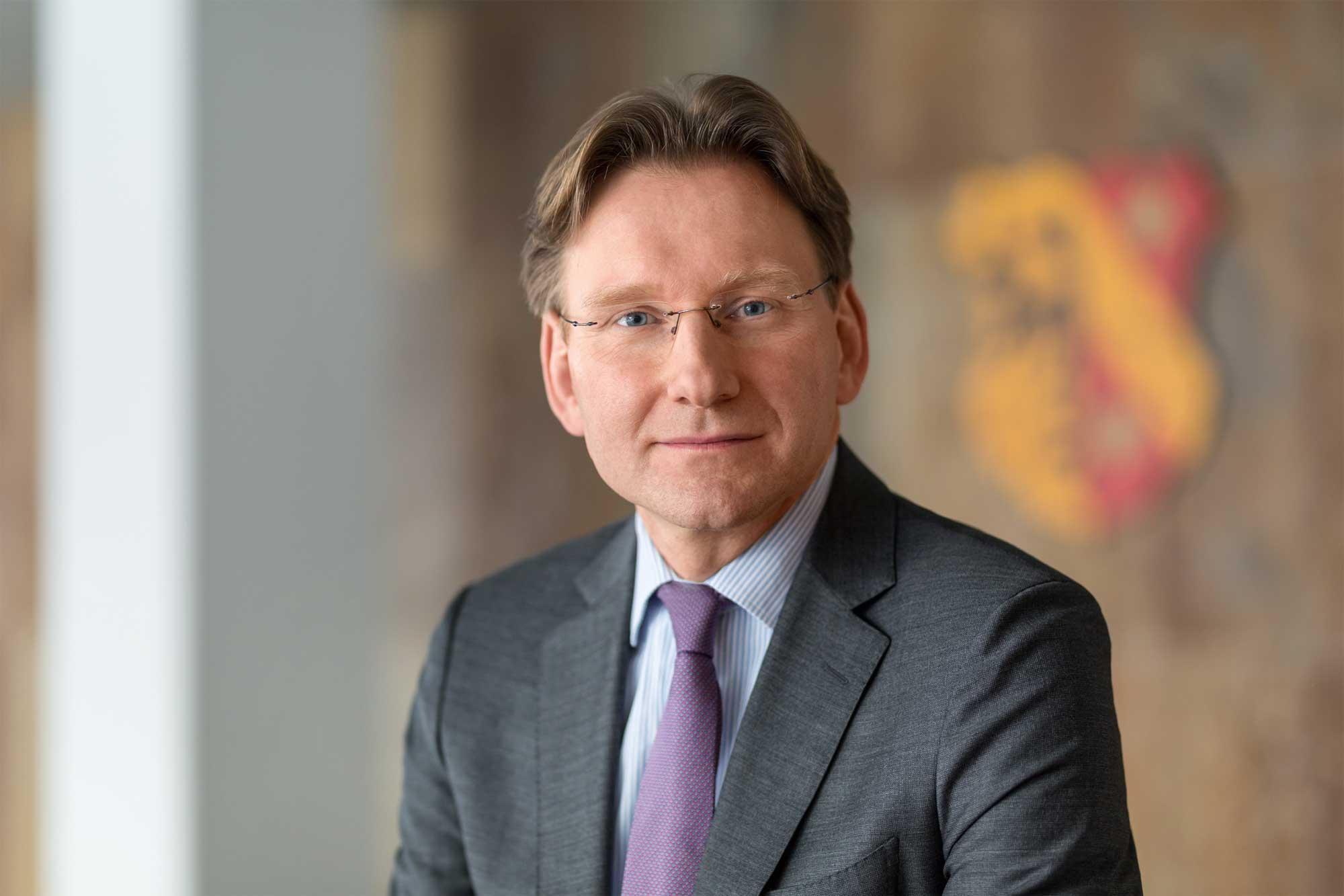 Helge CARL, Leiter des Bau- und Umweltreferats