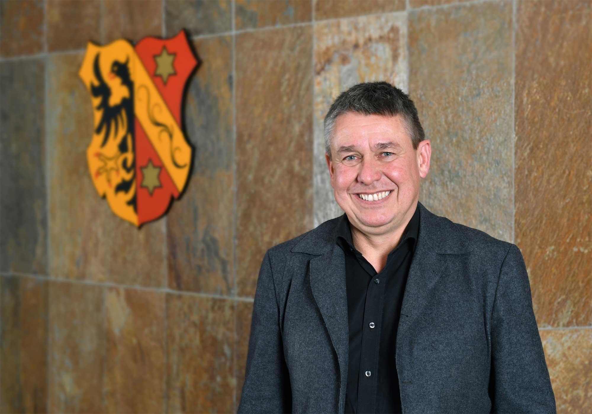 Thomas Zeh, Leiter des Referats für Zentrale Dienste, Bürgerservice, Recht und öffentliche Ordnung