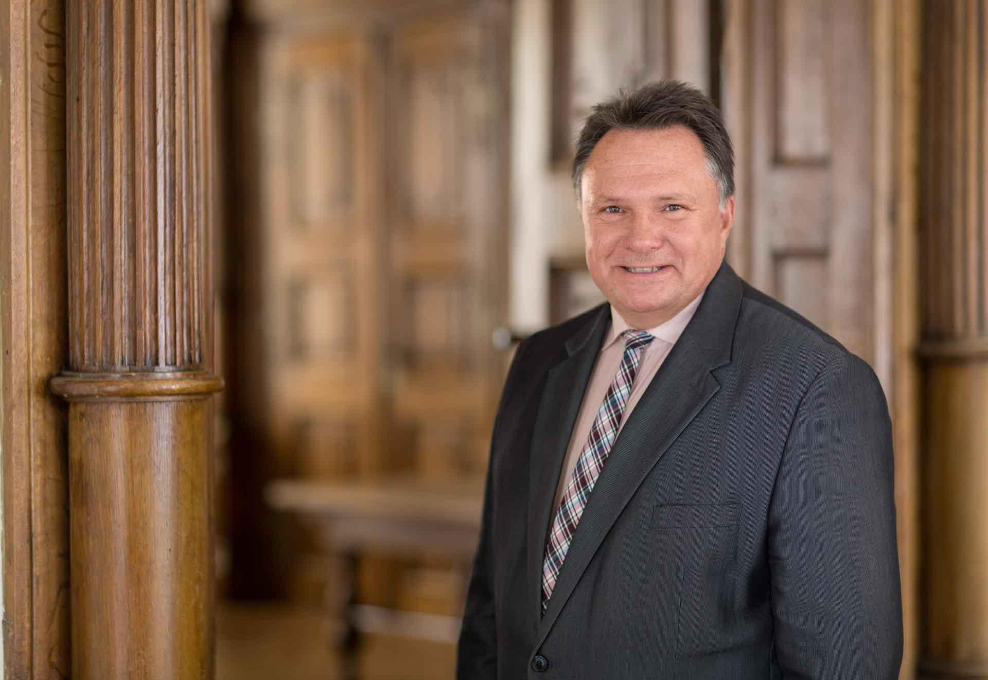 Oberbürgermeister Stefan Bosse