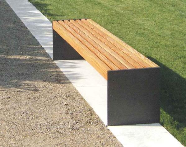neue Möblierungselemente - Sitzbank
